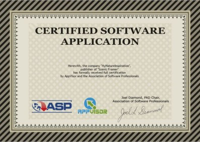 Association of Software Professionals PAD certificate