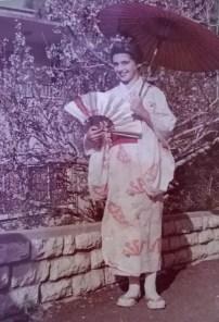 Shoshana Biro age 12 Japanese Costume